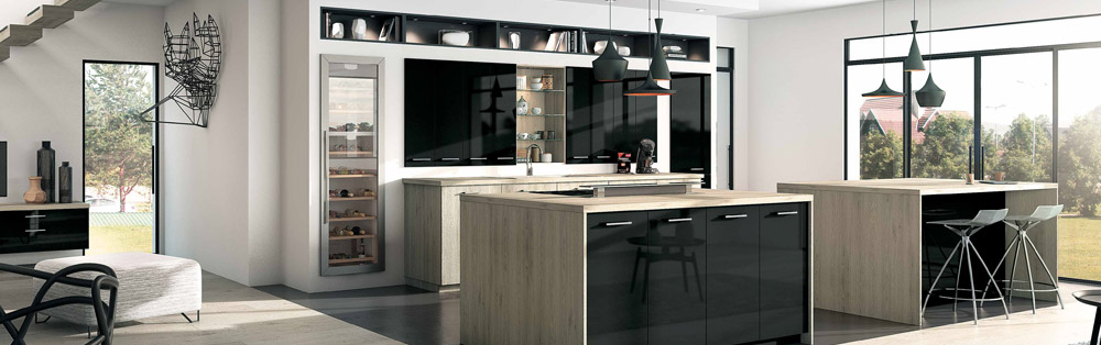 cuisine equipee inspirations boulanger. Black Bedroom Furniture Sets. Home Design Ideas